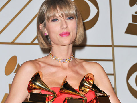 Taylor Swift, triunfadora