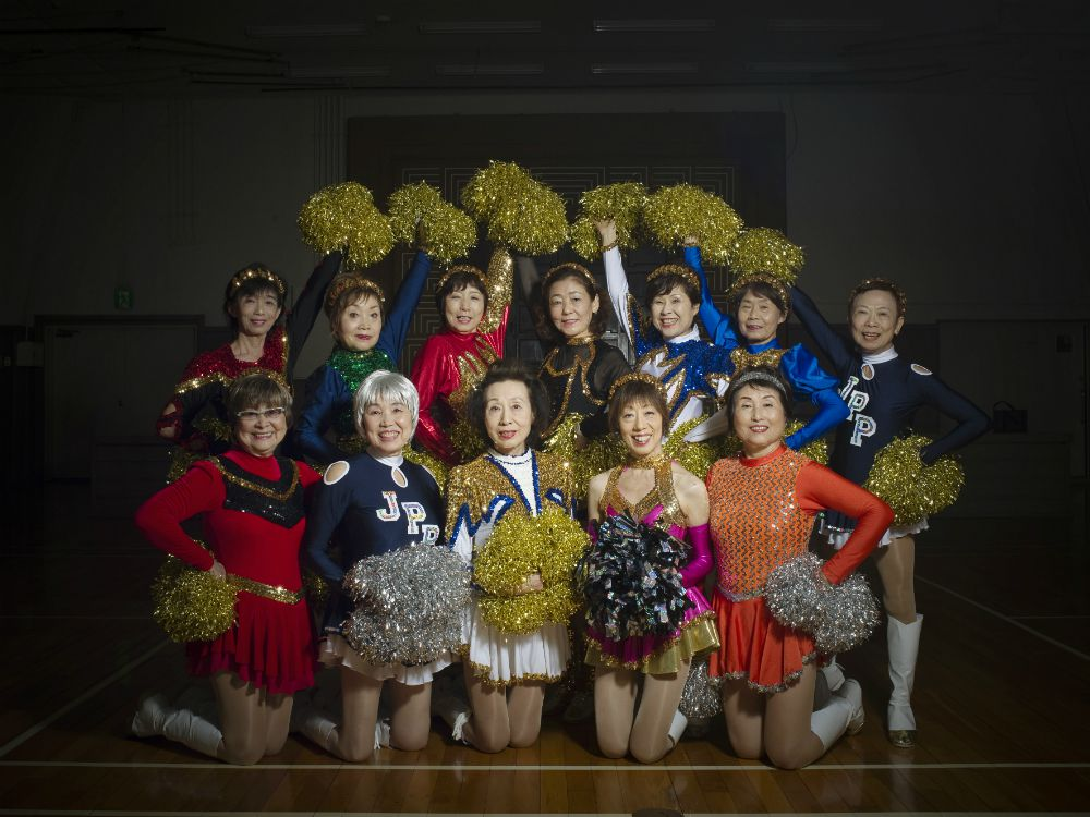 30 cheerleaders