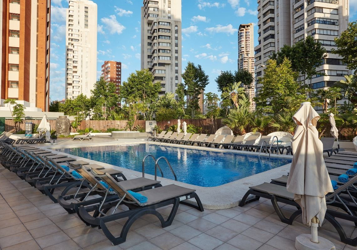 Hotel Flamingo Beach Resort, un reducto de tranquilidad en pleno Benidorm