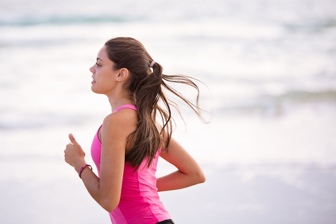 mujer correr