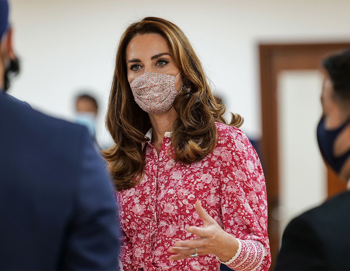 Kate Middleton vestido de flores
