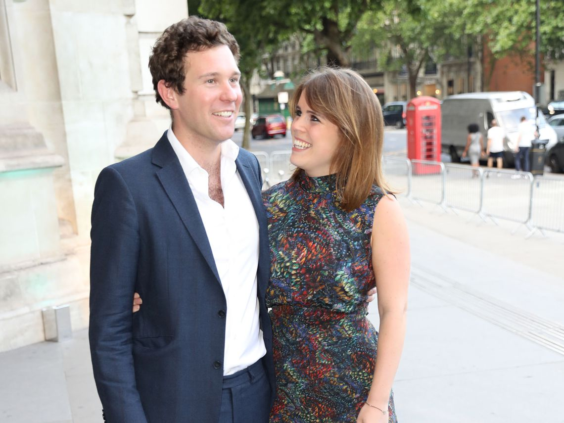 Princess Eugenie of York and Mr. Jack Brooksbank