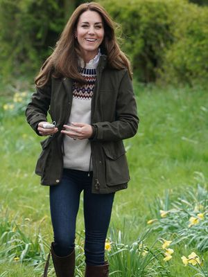 Kate Middleton look campo