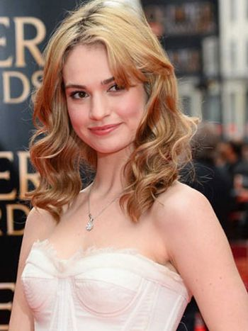 Lily James, la Cenicienta de Hollywood