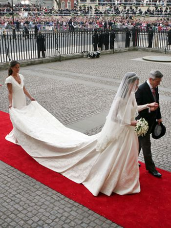 Vestido novia Kate Middleton