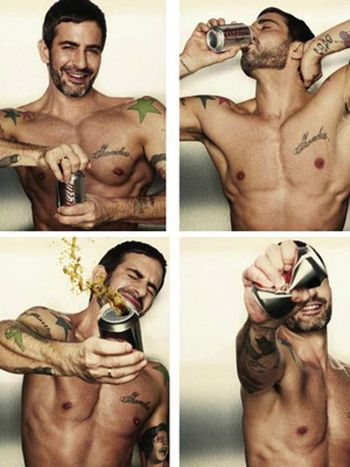 Marc Jacobs para Coca Cola Light