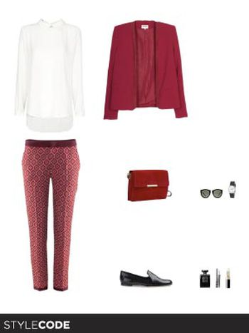 Total look rojo