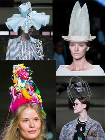 Sombreros en New York Fashion Week primavera-verano 2015