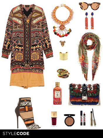 Look de inspiración tribal