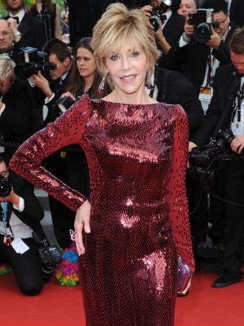 Jane Fonda en Cannes