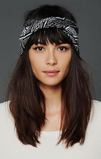 Turbante boho-chic
