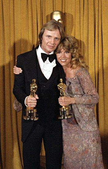 Jon Voight y Jane Fonda