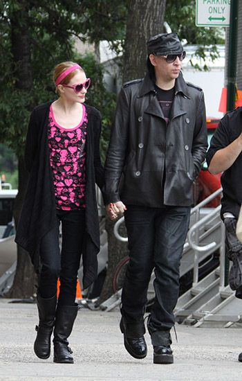 Evan Rachel Wood y Marilyn Manson