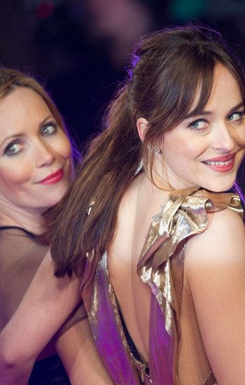 Leslie Mann y Dakota Johnson