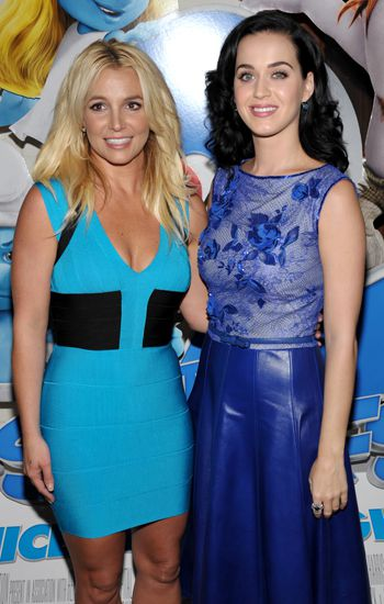 Britney Spears y Katy perry