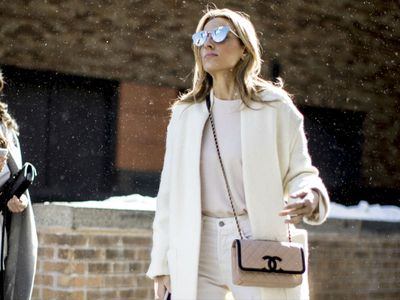 ¿Vestir de blanco en invierno? 15 looks que lo confirman