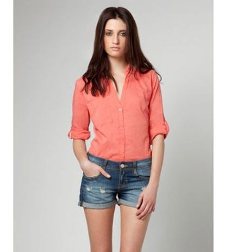 Camisa+shorts denim