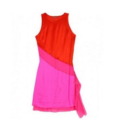 Vestido color block