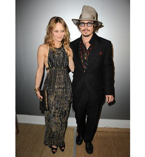 Vanessa Paradis y Johnny Deep