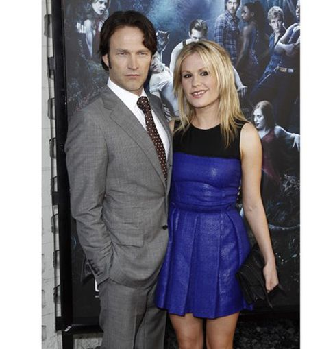 Anna Paquin y Stephen Moyer