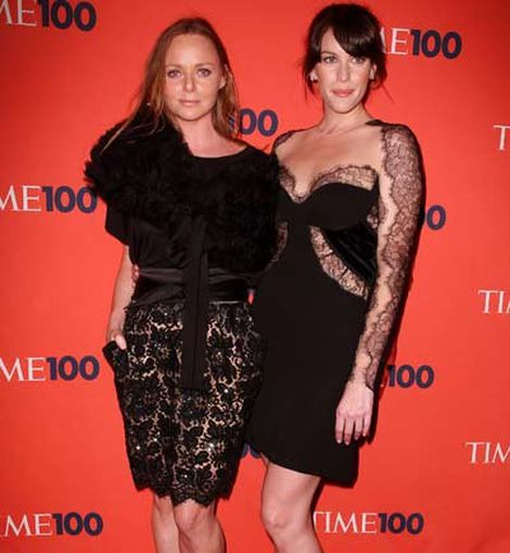 Stella McCartney y Liv Tayler