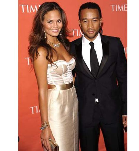 John Legend y Christine Teigen