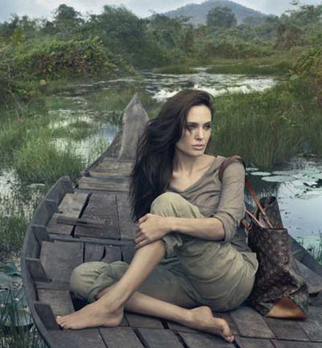 Angelina para Louis Vuitton