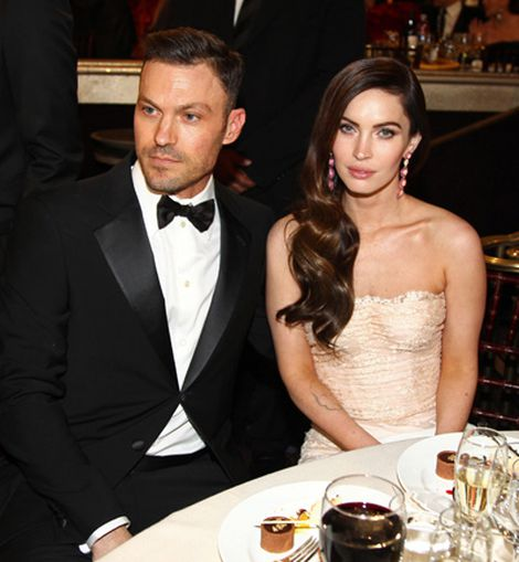 Brian Austin Green y Megan Fox