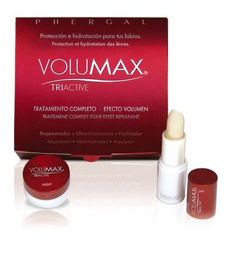 Volumax. Labios menos voluminosos.