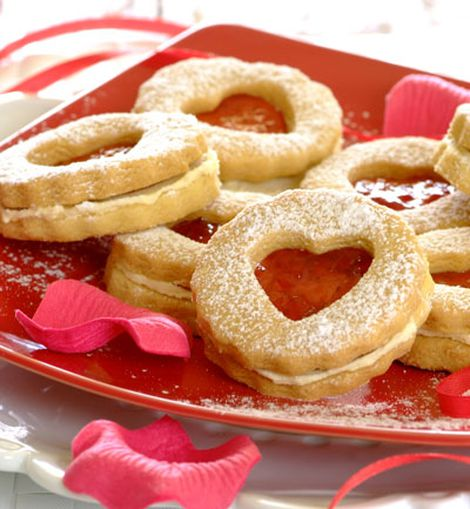 Valentine's Cookies- Ingredientes