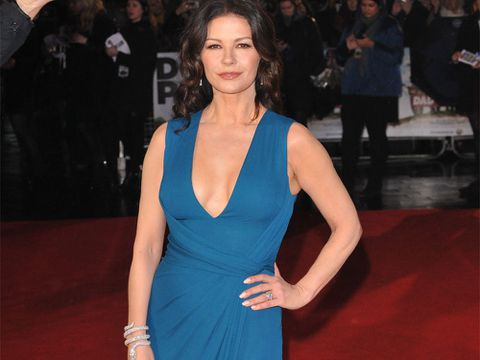 Catherine Zeta-Jones deslumbra en Londres