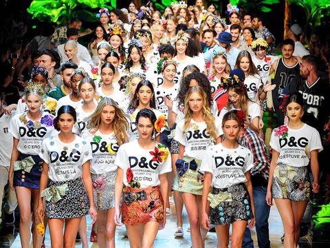 Dolce & Gabbana recupera el brillo en la Milan Fashion Week