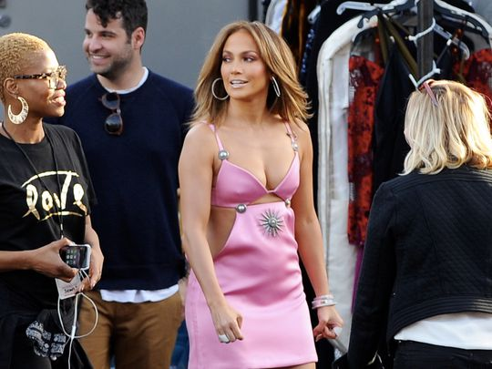 El último look imposible de Jennifer Lopez