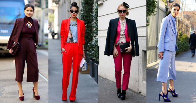 Tailoring de colores, street style