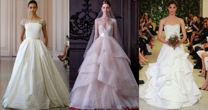 New York Bridal Week: tendencias para novias de 2016