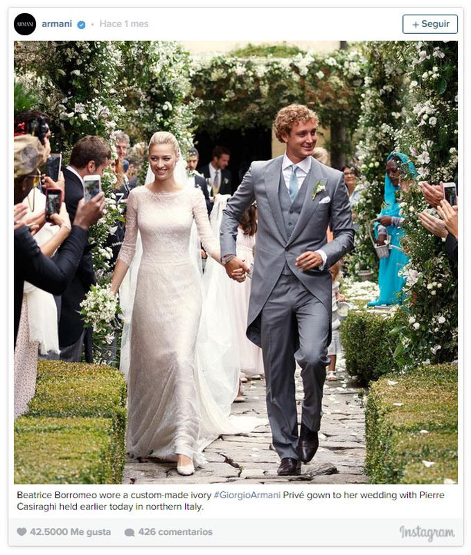 Beatrice Borromeo y Pierre Casiraghi, boda a la italiana 01