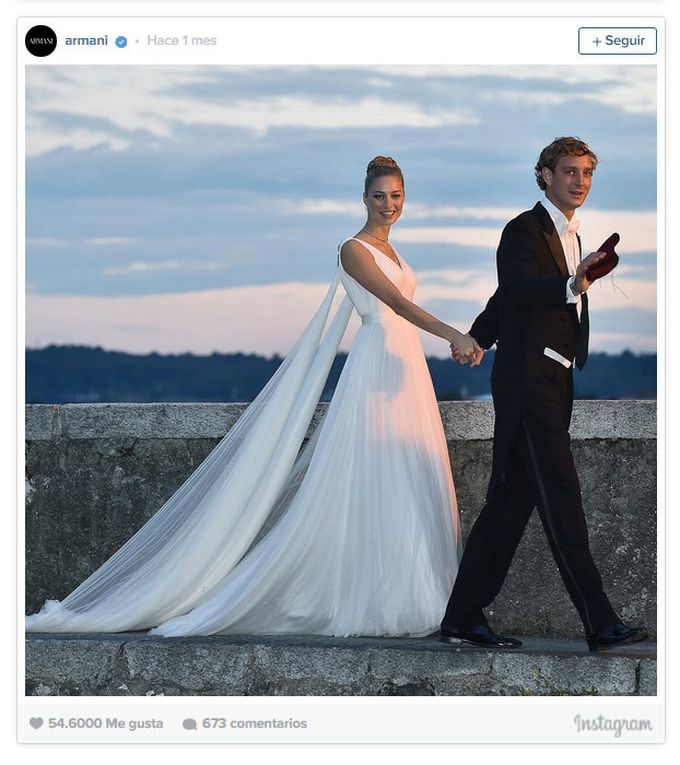 Beatrice Borromeo y Pierre Casiraghi, boda a la italiana 2