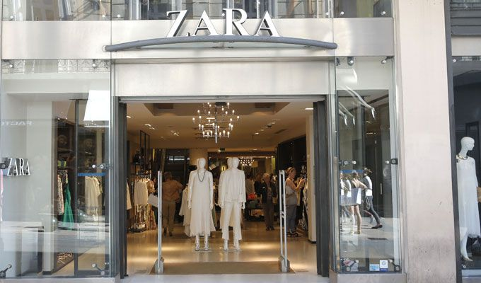 outlet de Zara