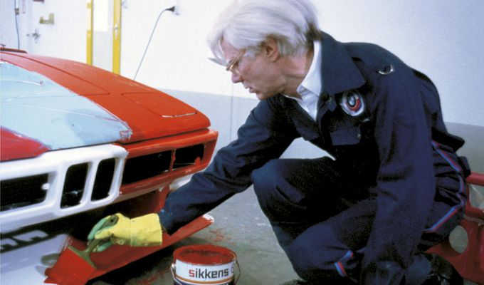 Andy Warhol y su BMW Art Car