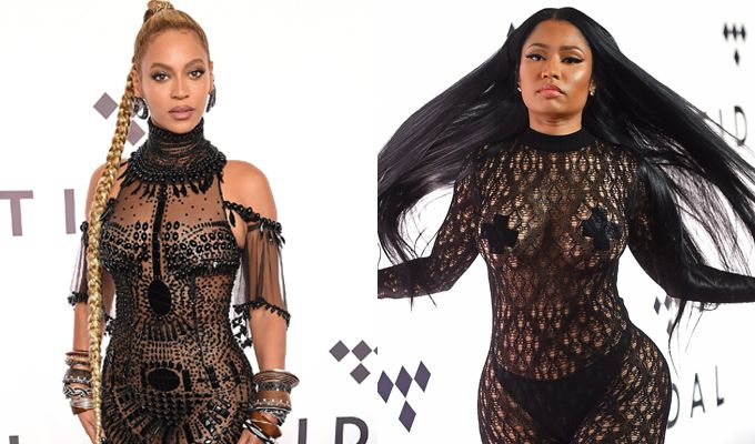 Beyoncé vs. Nicki Minaj