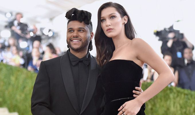 Abel TEsfaye (The Weeknd) y Bella Hadid.