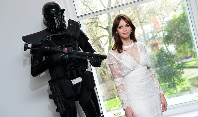 Felicity Jones, la mejor pagada de Rogue One