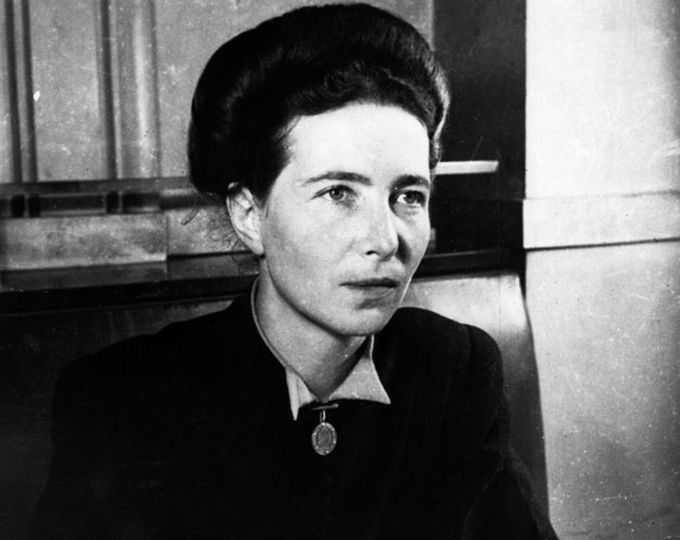 simone de beauvoir donald trump