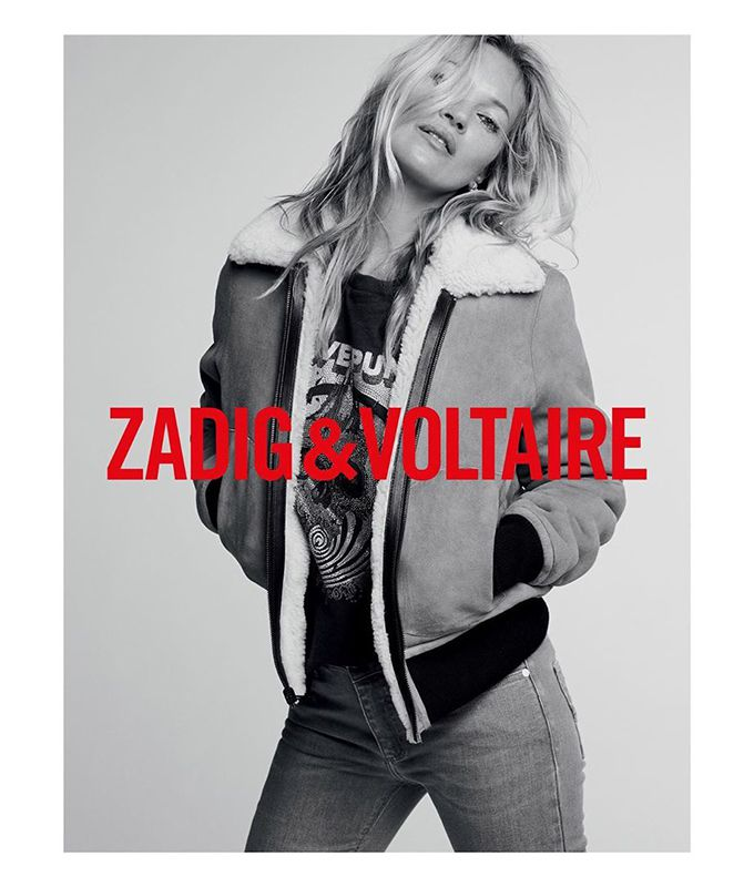 Kate Moss para Zadig and Voltaire