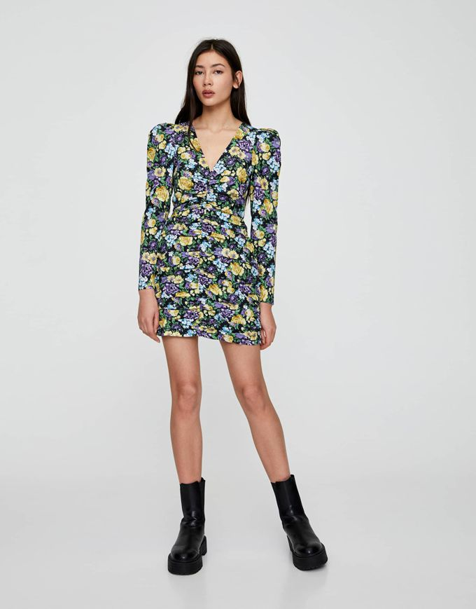 pull and bear vestido