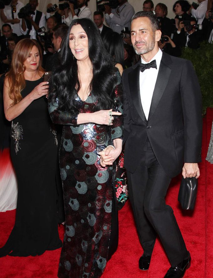 Cher y Marc Jacobs