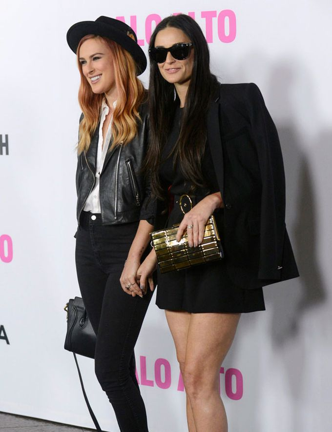 Demi Moore y Rumer Willis