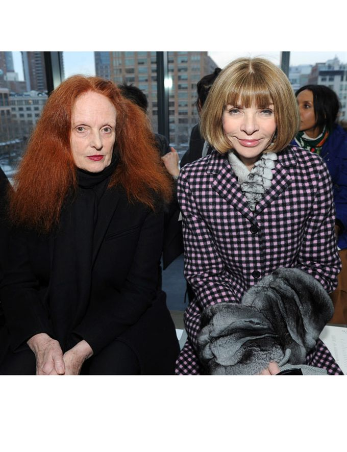 Anna Wintour y Grace Coddington