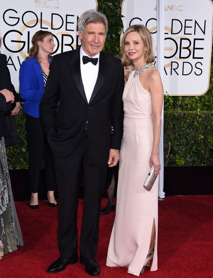 Harrison Ford y Calista Flockhart