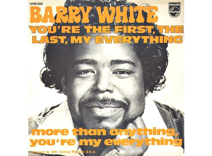 You're The First, My Last, My Everything - Barry White